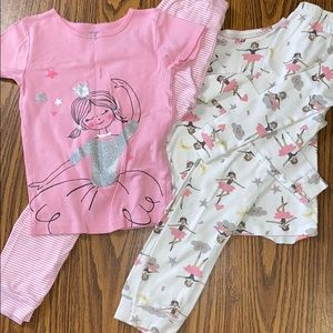 Girls 4-piece pajama set!!!